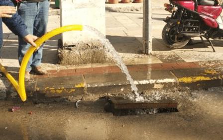 Taban Suyu Binalardan Çıkıyor