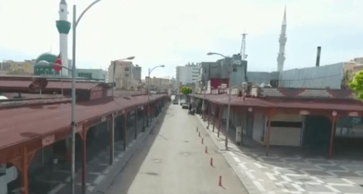 Suruç'ta corona virüs nedeniyle bir bina karantinaya alındı
