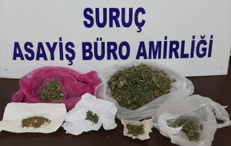 Suruç'ta Uyuşturucu Operasyonu