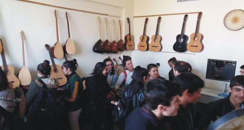 Suruç'ta ücretsiz bağlama kursu açıldı Urfa Haber