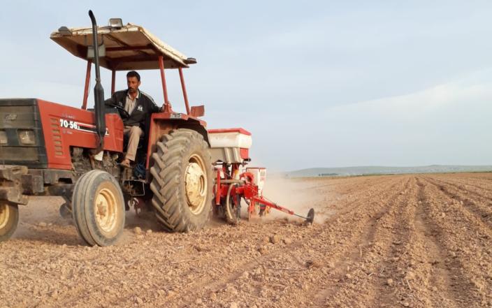 Çiftçiler Pamuk Ekimine Başladı