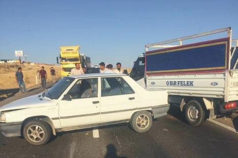 Şanlıurfa-Suruç ölüm yolunda bir kaza daha!
