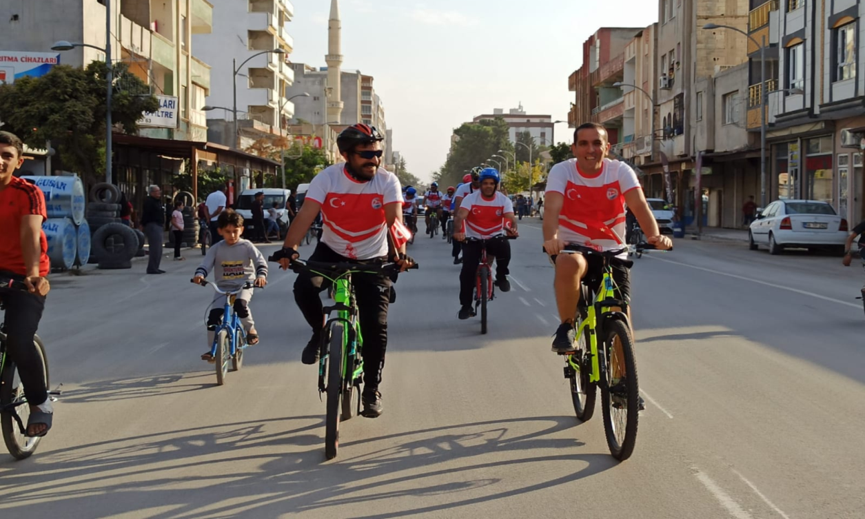 Suruç'ta bisiklet turu düzenlendi Urfa Haber