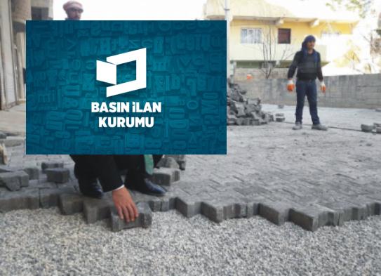Haliliye'de parke taşı döşeme işleri yaptırılacaktır Urfa Haber